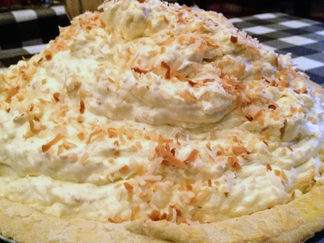 Othello's Coconut Cream Pie