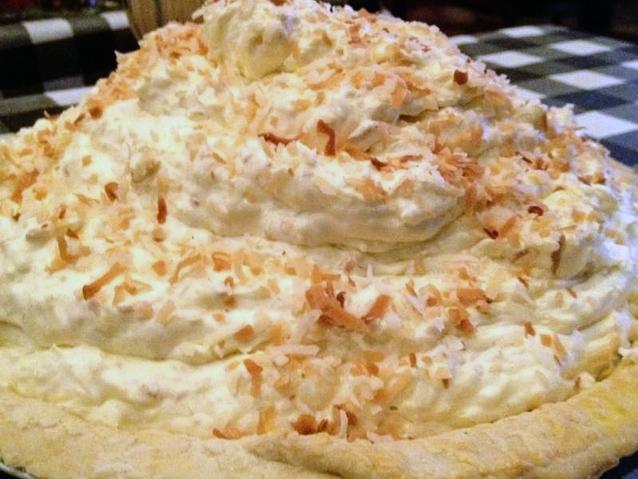 Othello's Coconut Cream Pie