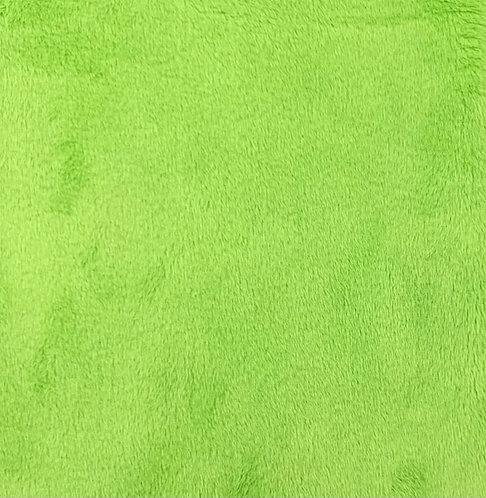 UV Lime (HF) Minky Cuddle Solid Fabric