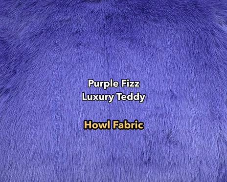 Purple Fizz Luxury Teddy Faux Fur