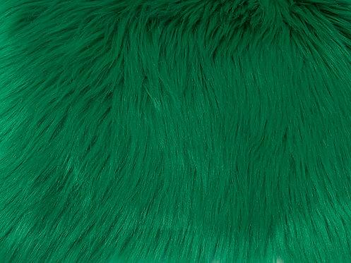 Emerald Luxury Shag Faux Fur