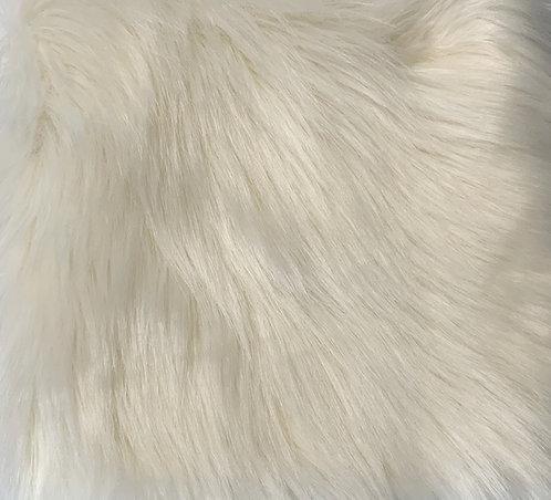 Ivory Luxury Shag SWATCH