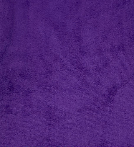Purple Minky Cuddle Solid Fabric