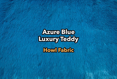 Azure Blue Luxury Teddy SWATCH