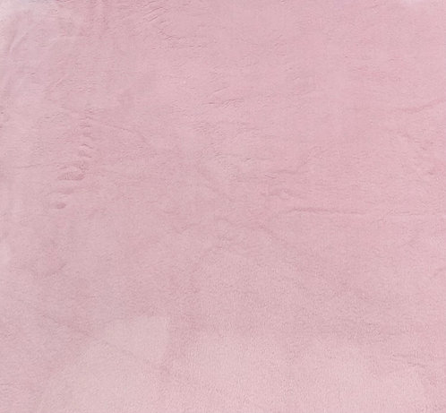 Blush Minky Cuddle Solid Fabric