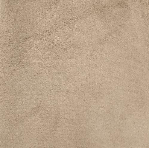 Latte Minky Cuddle Solid Fabric
