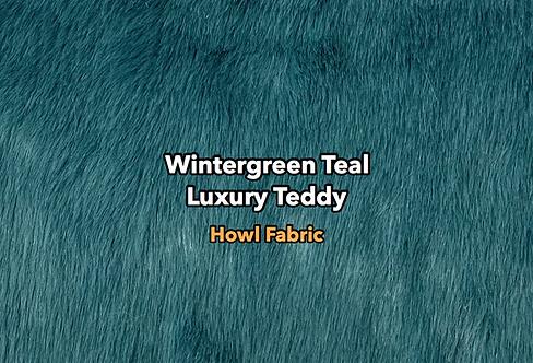 Wintergreen Teal Luxury Teddy SWATCH