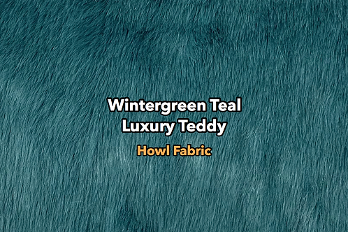 Wintergreen Teal Luxury Teddy