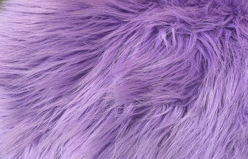 "Iris Purple Short Fox 2"" SWATCH"