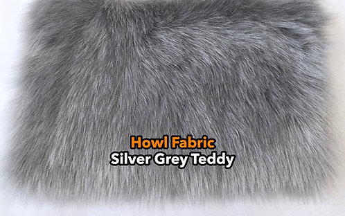 Silver Faux Fur Fabric