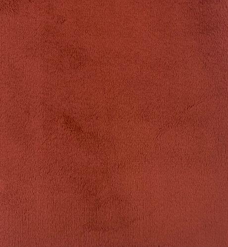 Terracotta (HF) Minky Cuddle Solid Fabric