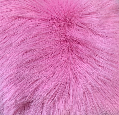 Bubble Gum Luxury Shag Faux Fur