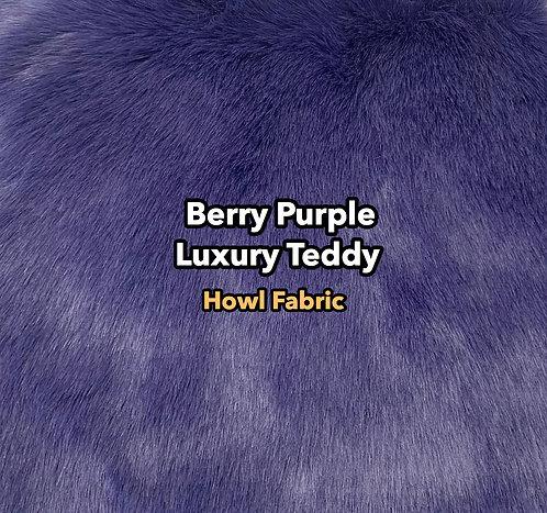 Berry Purple Luxury Teddy SWATCH