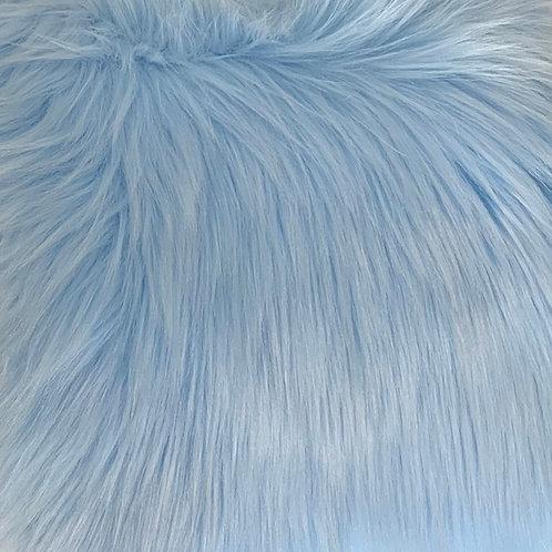 Baby Blue Luxury Shag Faux Fur