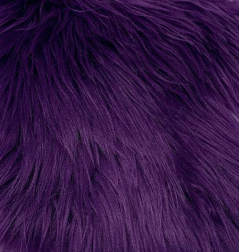 Purple Luxury Shag Faux Fur