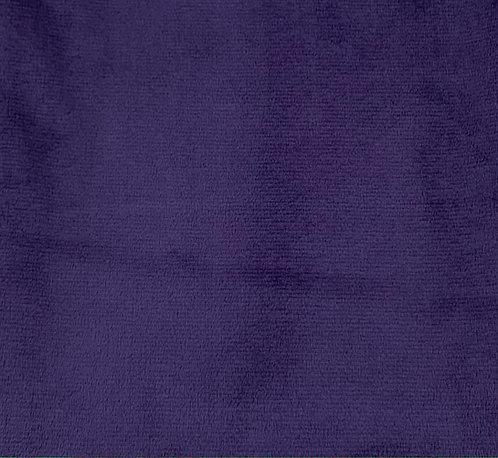 Eggplant Minky Cuddle Solid Fabric