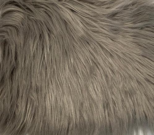 Stone Luxury Shag Faux Fur