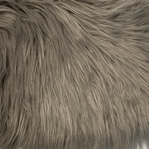 Stone Luxury Shag Faux Fur