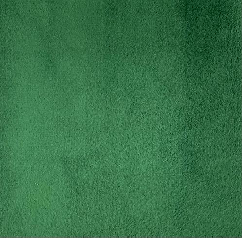 Emerald Minky Cuddle Solid Fabric
