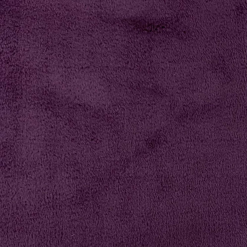 Plumwine Minky Cuddle Solid Fabric