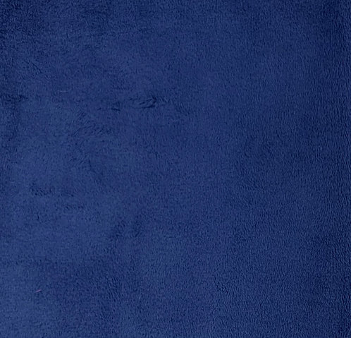 Royal Blue Minky Cuddle Solid Fabric