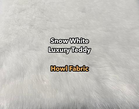 Snow White Luxury Teddy Faux Fur SWATCH
