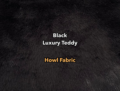 Black Luxury Teddy Faux Fur