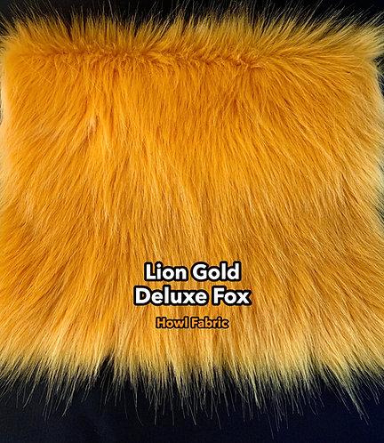 Lion Gold Deluxe Fox Faux Fur - PREORDER