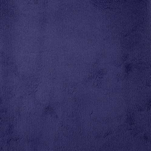 Indigo Minky Cuddle Solid Fabric
