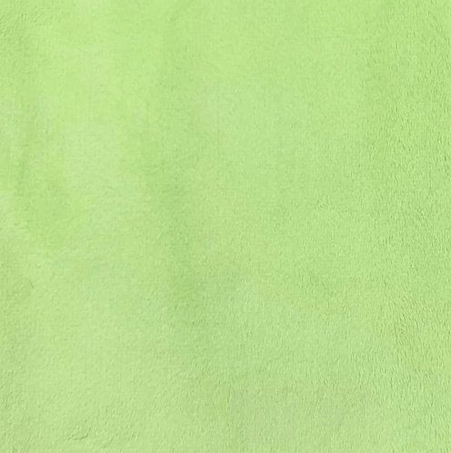 Lime Minky Cuddle Solid Fabric