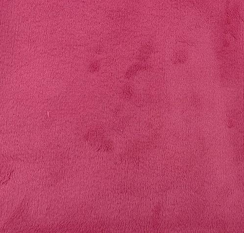 Fuchsia Minky Cuddle Solid Fabric