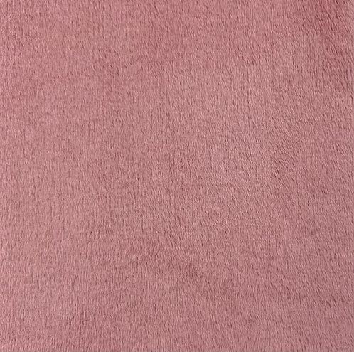 Rose Quartz Minky Cuddle Solid Fabric