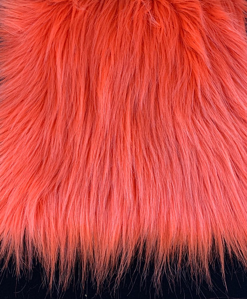 Tangerine Orange UV Reactive Short Fox 2""