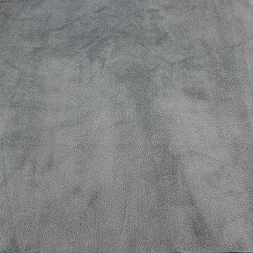 Grey (HF) Minky Cuddle Solid Fabric