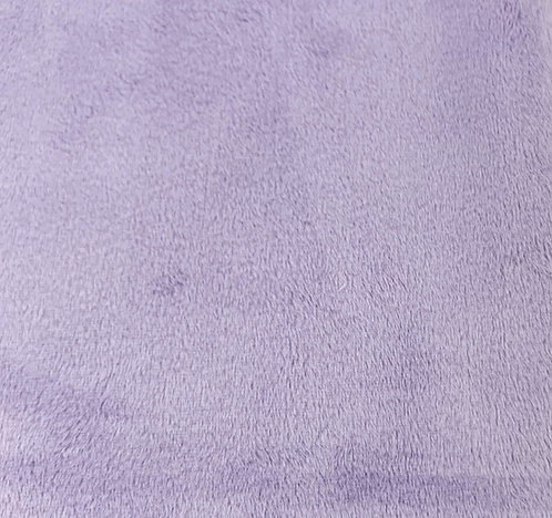 Lavender Minky Cuddle Solid Fabric