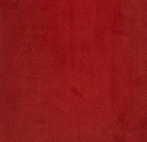 Scarlet Minky Cuddle Solid Fabric