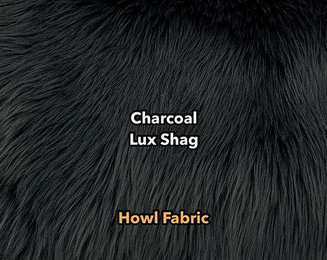Charcoal Grey Luxury Shag SWATCH