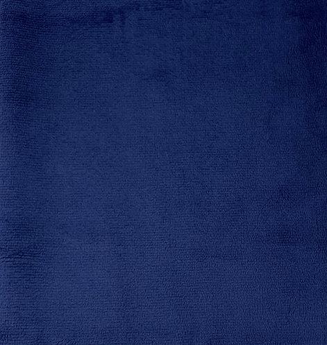 Midnight Blue Minky Cuddle Solid Fabric