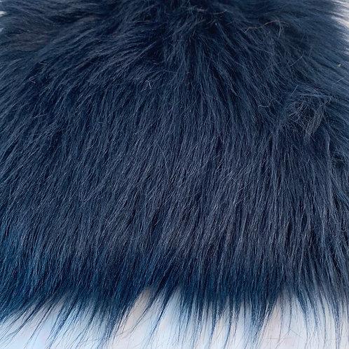 "Inky Blue Short Fox 2"" SWATCH"