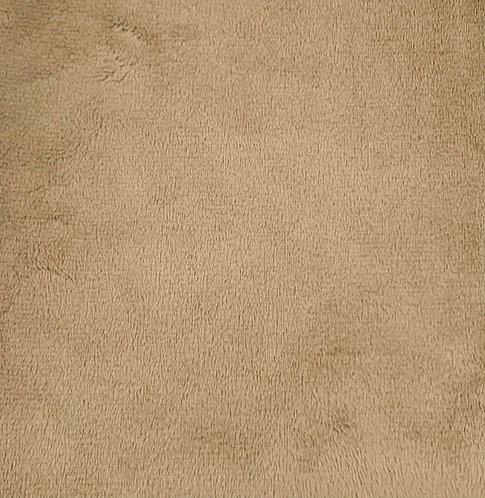 Fawn Tan (HF) Minky Cuddle Solid Fabric