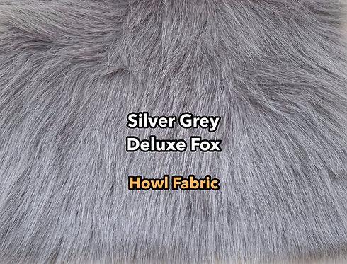 Silver Grey Deluxe Fox Faux Fur