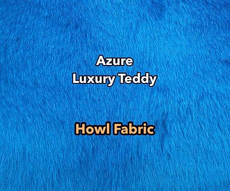 Azure Blue Luxury Teddy Faux Fur