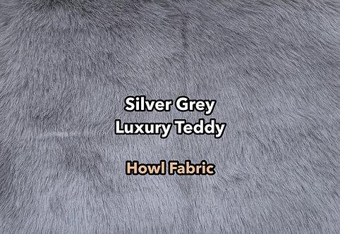 Silver Grey Luxury Teddy Faux Fur
