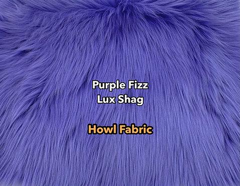 Purple Fizz Luxury Shag Faux Fur