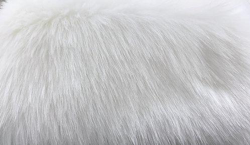 Bright White Luxury Teddy (Mink) Faux Fur