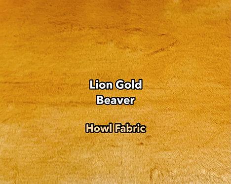 Lion Gold Beaver (Super Seal) Faux Fur