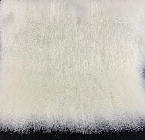 Ivory White Bunny Swatch
