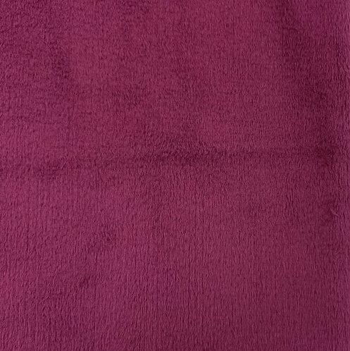 Magenta Minky Cuddle Solid Fabric