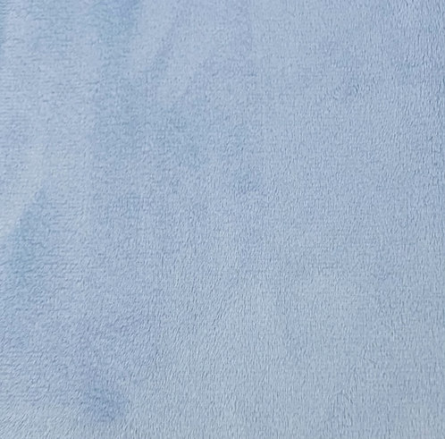Baby Blue Minky Cuddle Solid Fabric