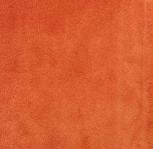 Mandarin Minky Cuddle Solid Fabric